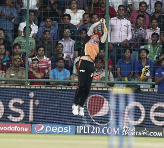 Steyn not only picked up two wickets, but also took a stunning catch
