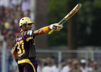 Uthappa was named Man of the Match for his unbeaten 83