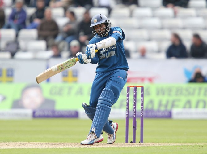 Dilshan struck seven boundaries during his outstanding knock of 88