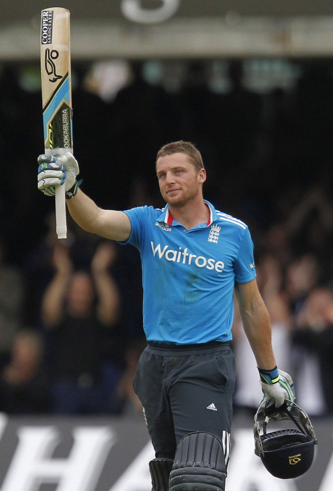 Buttler entertained the crowd at Lord's with his inspiring century