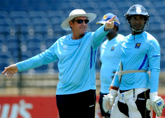 Bayliss was Sri Lanka's head coach from 2007 to 2011