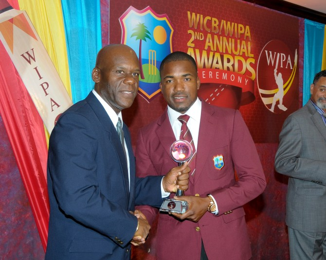 Bravo was named Cricketer of the Year