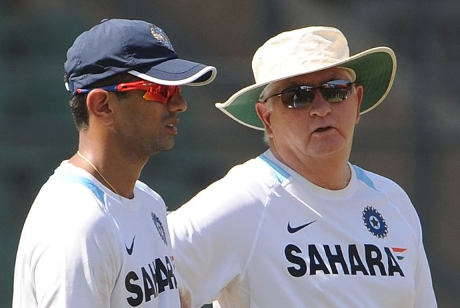 """It was the coach (Duncan Fletcher) who approached us on behalf of the team and said it would be good to have Rahul with his vast experience spend some time with the boys ahead of the series"""