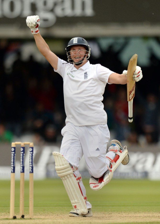 Ballance is ecstatic after scoring his maiden Test century