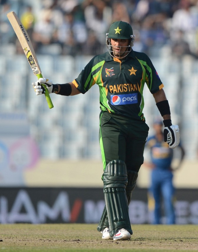"""""""He took charge of the team in difficult conditions for Pakistan cricket and has settled down the players and built a good team"""""""
