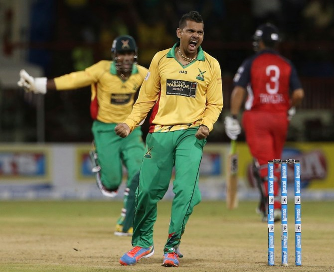 Narine sealed the deal for Guyana with a spectacular wicket-maiden Super Over