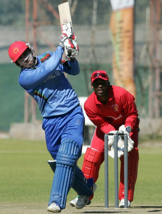 Shenwari's unbeaten 65 helped Afghanistan finish on 223