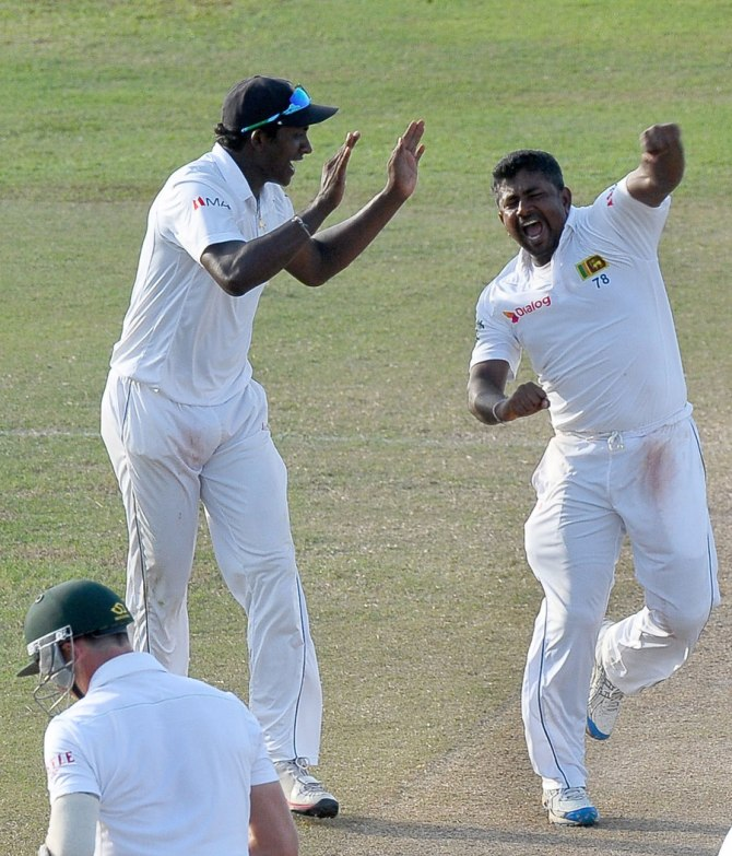Herath nearly led Sri Lanka to victory with his five-wicket haul