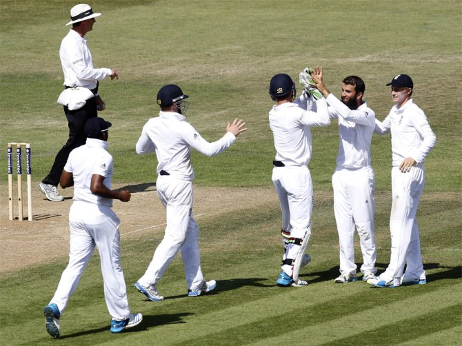 Sharma and Rahane gifted their wickets to Ali