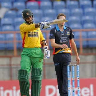 Ramdin struck six boundaries during his match-winning knock of 51