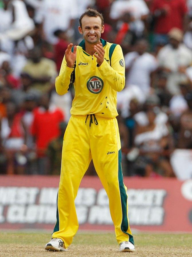 Lyon's last ODI for Australia came in March 2012
