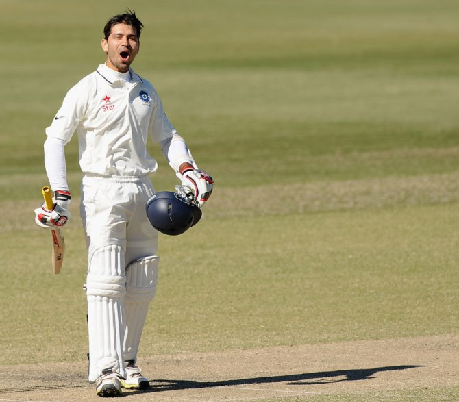 Ojha recently scored 219 not out, 101 not out and 110 in two unofficial Tests against Australia A