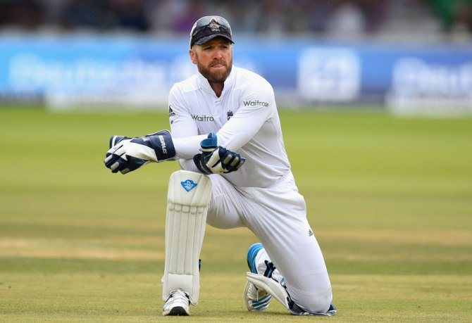 Prior decided to take a break from international cricket after the second Test against India at Lord's