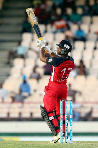 Lewis hammered three boundaries and five sixes during his stellar knock of 59