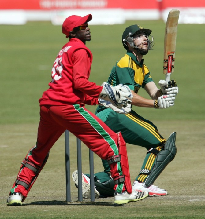 Parnell was named Man of the Match for excelling with both the bat and ball