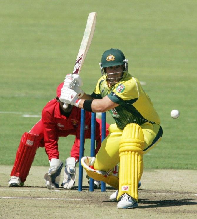 Finch got Australia off to a strong start