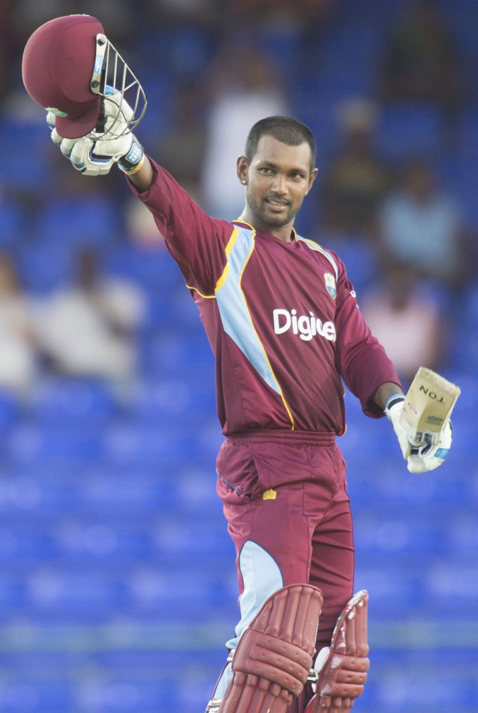 Ramdin now holds the record for the highest ODI score by a West Indian batsman on home soil
