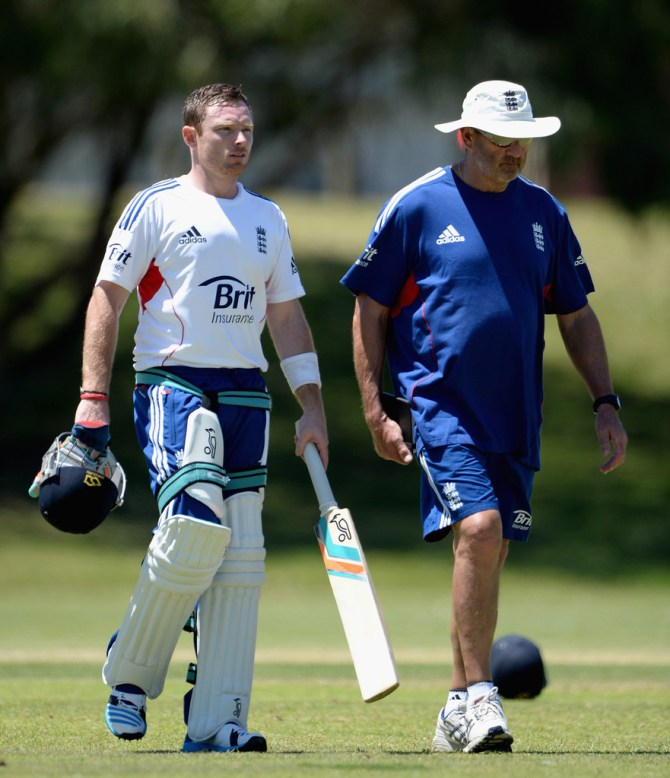 """""""He puts you under the pump, which is where you are in a Test match"""""""