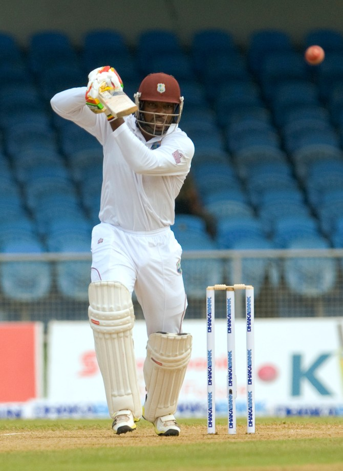 Gayle entertained the crowd with his knock of 64