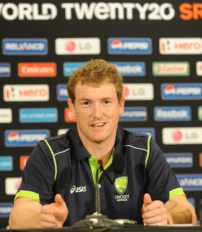 Bailey led Australia in two World Twenty20s during his tenure as captain