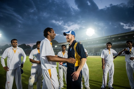 The Vatican cricket team finished their tour of England with a record of 2-3