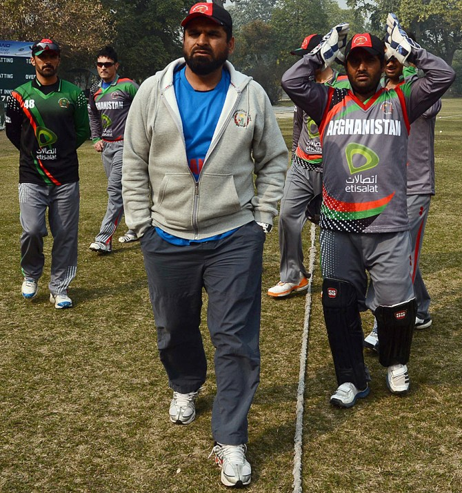 Khan recently resigned as Afghanistan's head coach