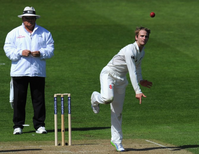 """He's ambidextrous, but he's not our next Dan Vettori"""