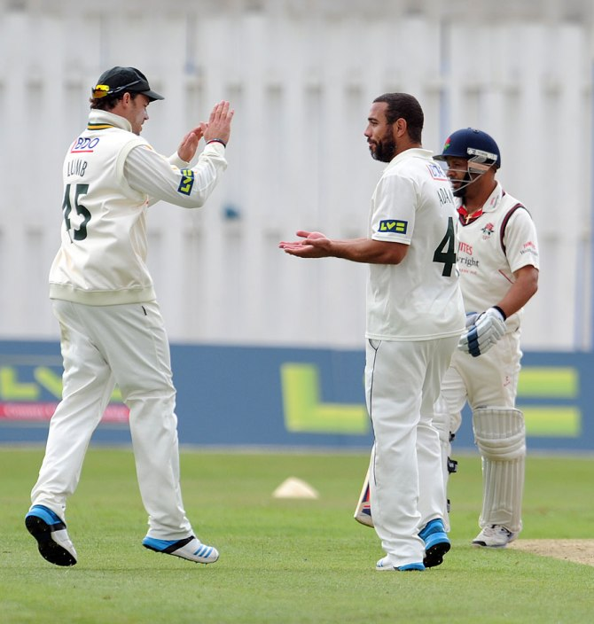 Adams will finish his county career with Hampshire instead of Nottinghamshire