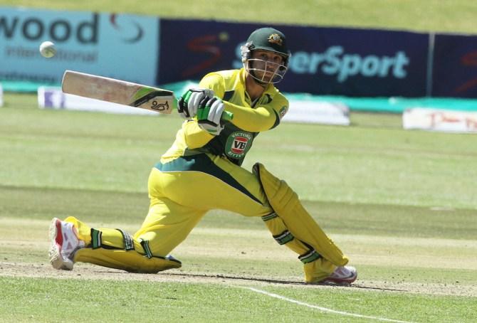 Hughes will take Clarke's place in the ODI squad