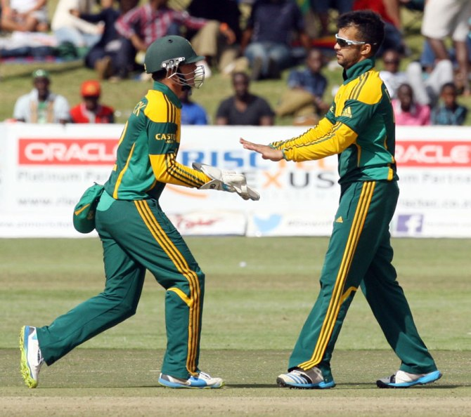 Duminy excelled with both the bat and ball