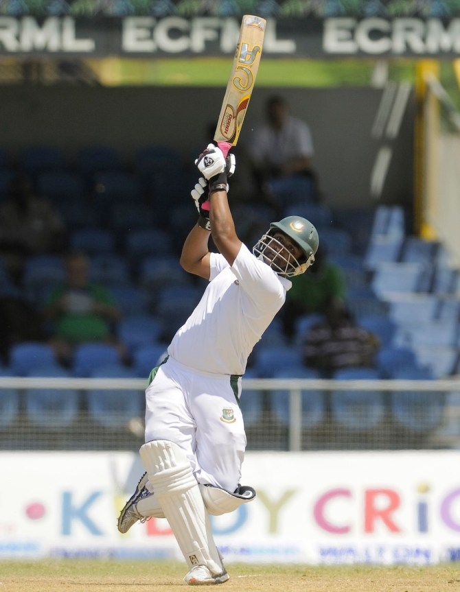 Iqbal hit four boundaries and three sixes during his innings of 53