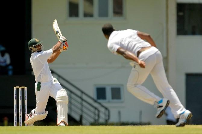 Mahmudullah made a gutsy 53