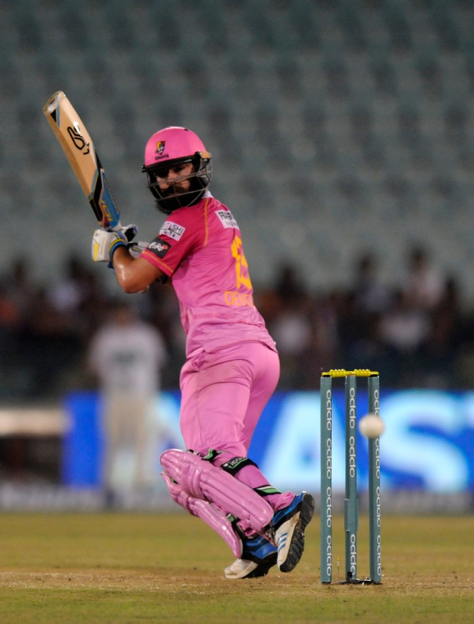 Devcich hit seven boundaries and a six during his knock of 67