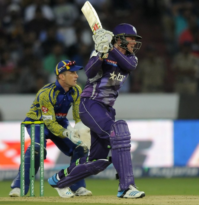 Dunk struck 10 boundaries during his innings of 54