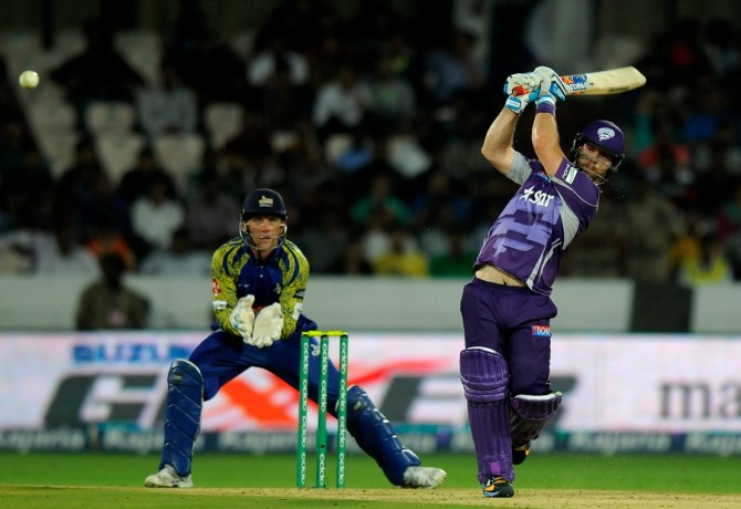 Blizzard was named Man of the Match for his superb knock of 78