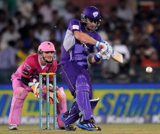 Blizzard smashed eight boundaries during his brilliant knock of 62