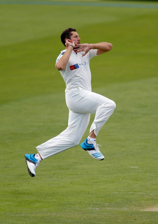 Bresnan is still recovering from a muscle strain in his right shoulder