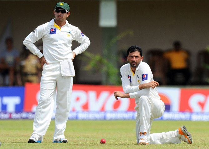 Khan (right) will be out of action for the next four to six weeks