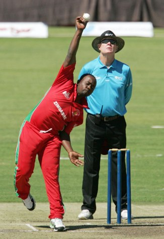 Utseya will only be allowed to bowl again once his action is cleared
