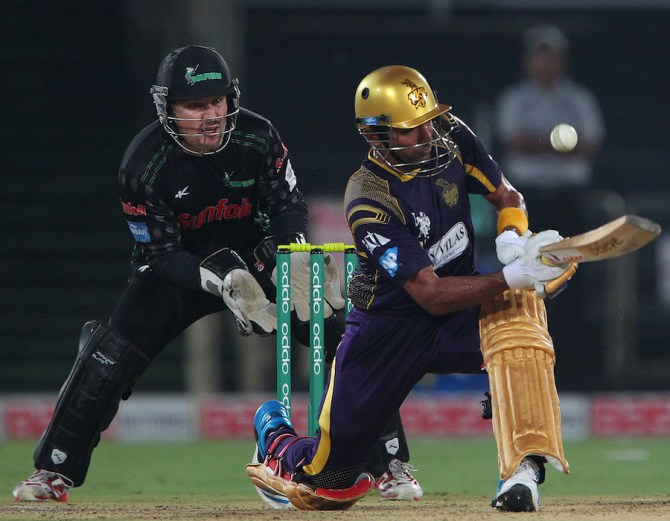 Uthappa was named Man of the Match for his stellar knock of 85