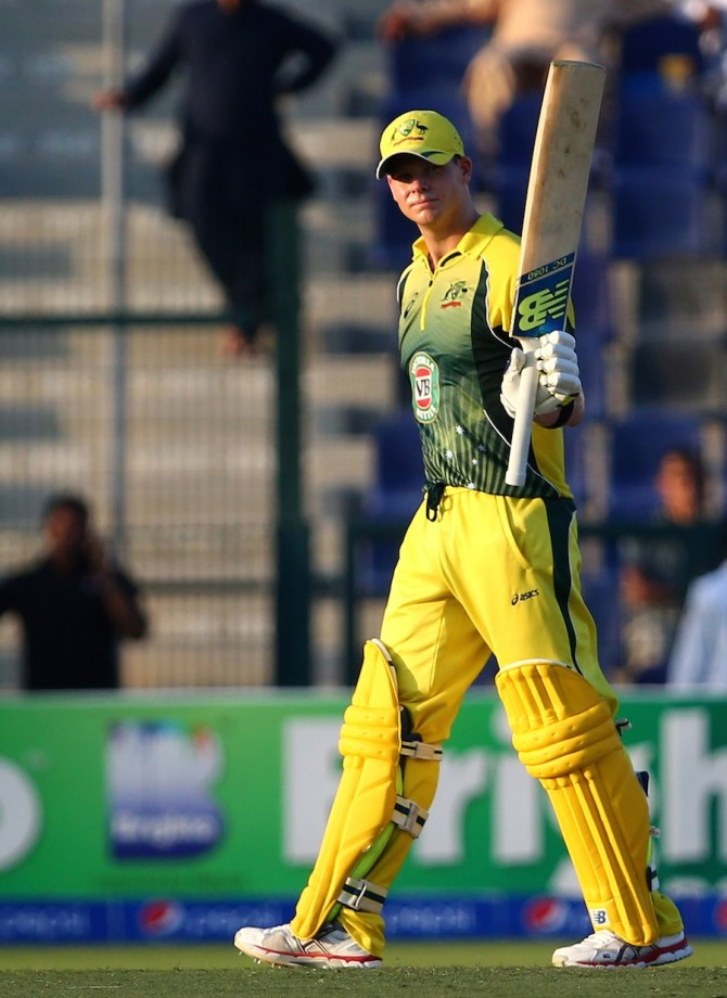 Smith's excellent form with the bat continued