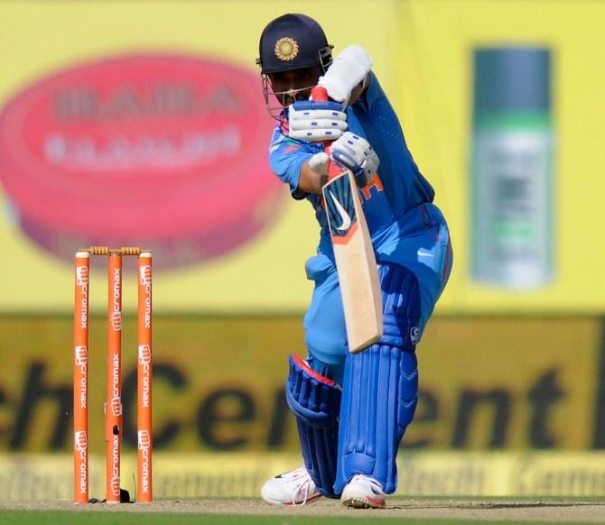 Rahane got India off to a good start