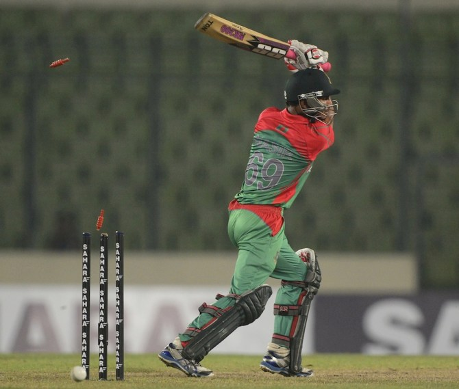 Hossain's poor form with the bat and ball has led to him being dropped