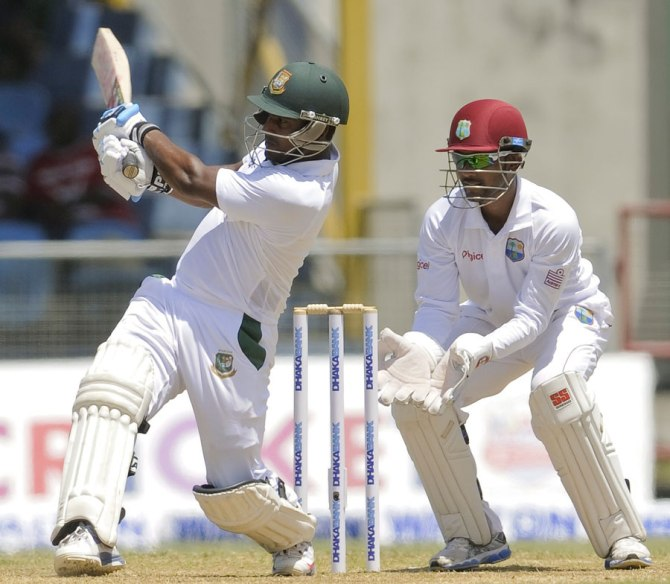 Kayes' last Test for Bangladesh came against the West Indies in September