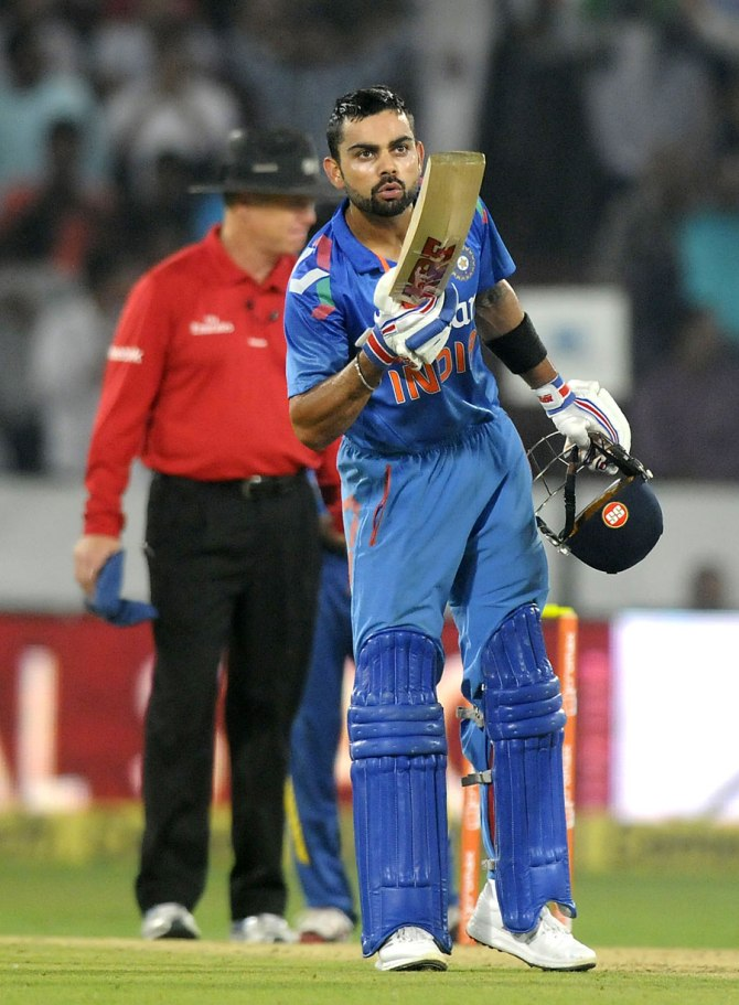 Kohli became the fastest batsman to score 6,000 ODI runs