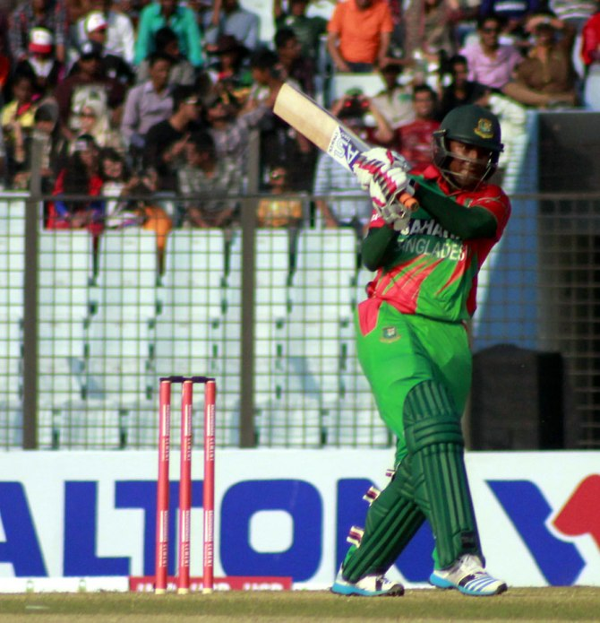Al Hasan became the first Bangladeshi player to score a century and take four wickets in an ODI