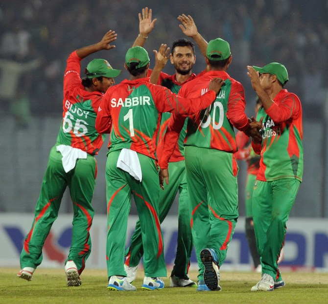 Mortaza was named Man of the Match for his figures of 3-34