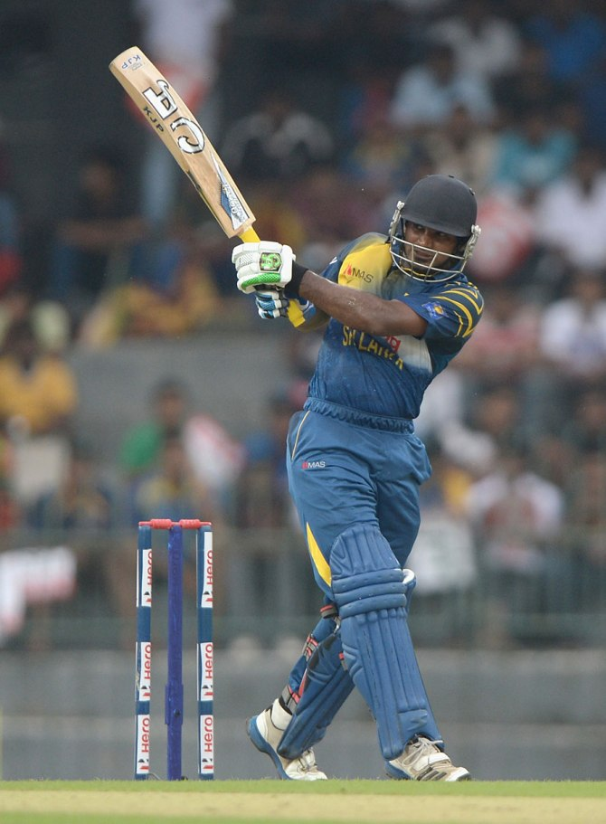 Perera helped Sri Lanka get off to a strong start