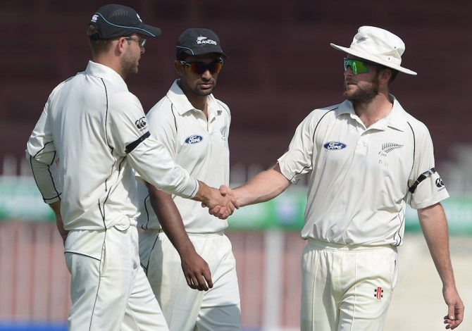 Craig (right) finished with a career-best 7-94 off 27.4 overs