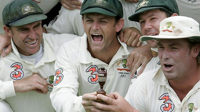 (From left to right) Hayden, Gilchrist, Ponting and Warne will all be in action on December 10